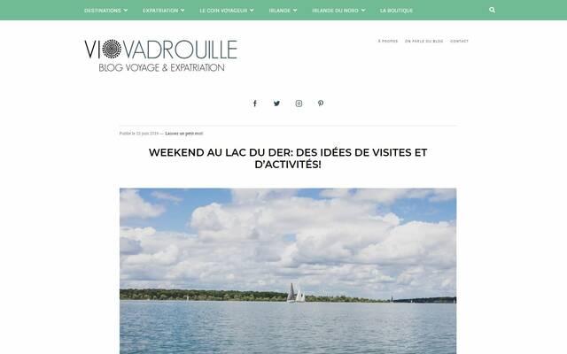 Week-end en famille au Lac du Der