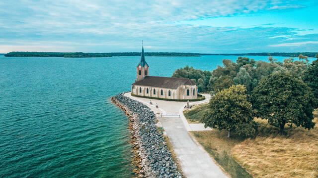 Les Droners au Lac du Der