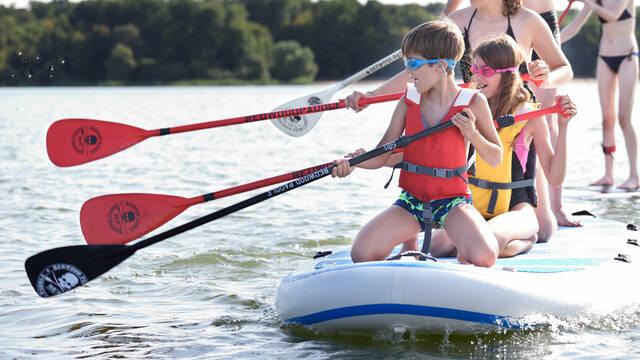 Activité paddle Lac du Der