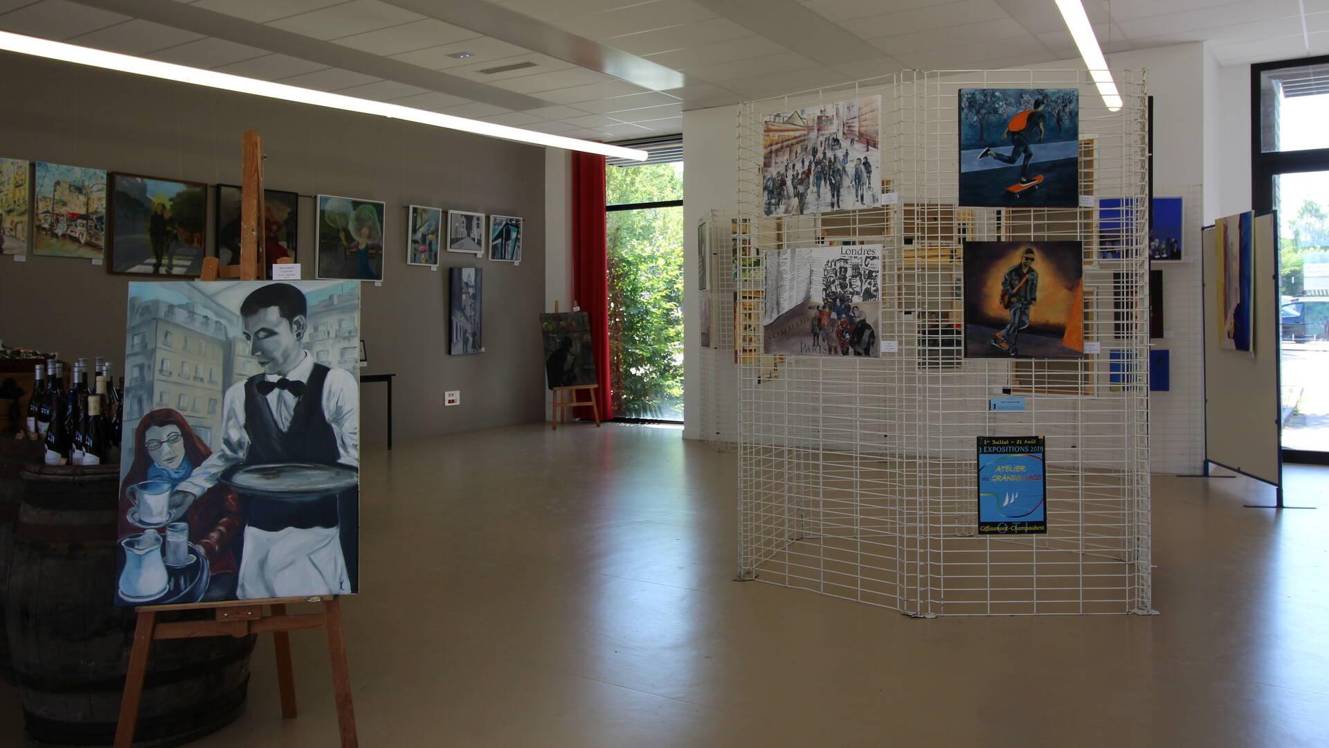 Workshop-Ausstellung über die Großen Seen