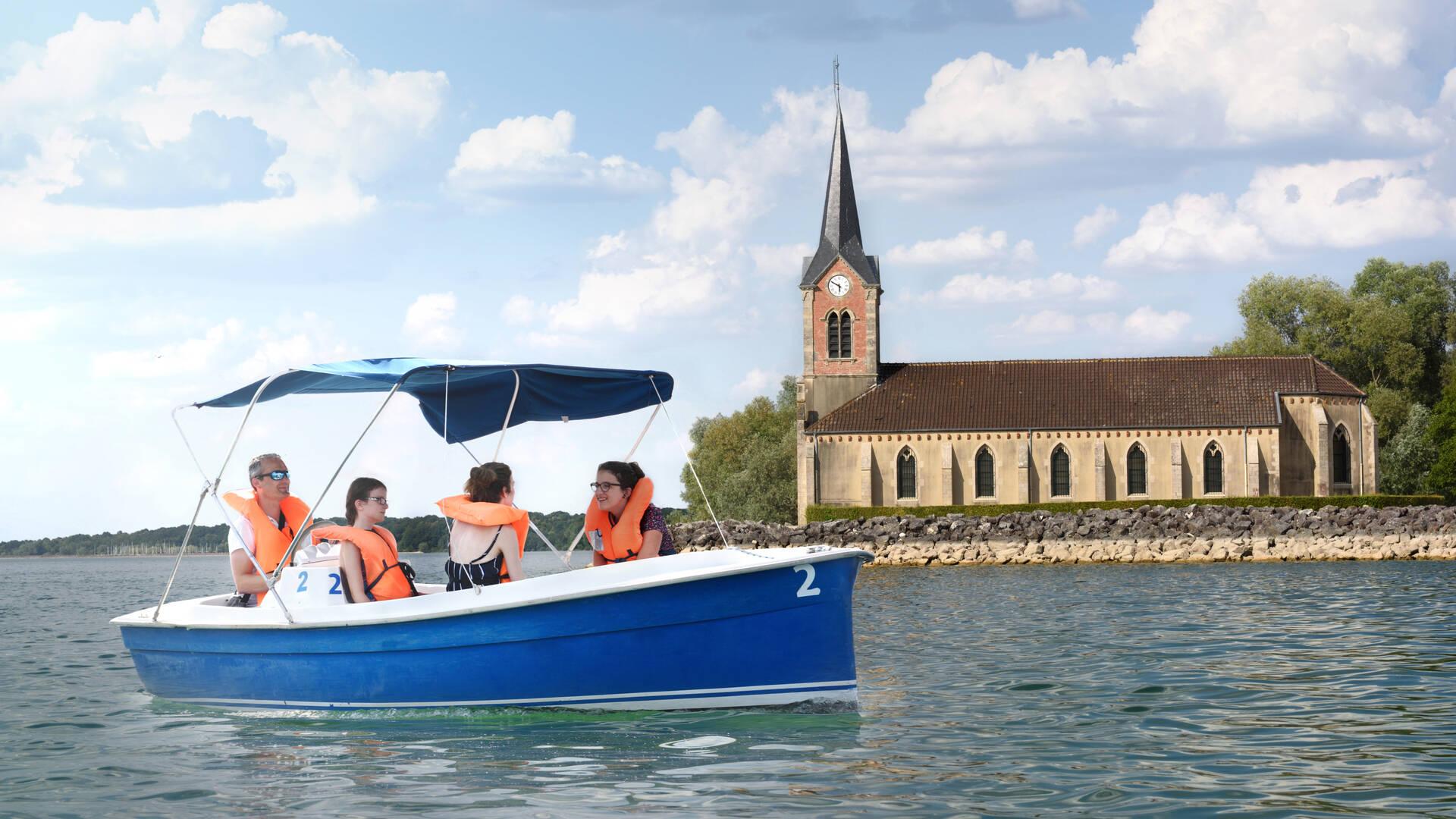 Balade en bateau au Lac du Der
