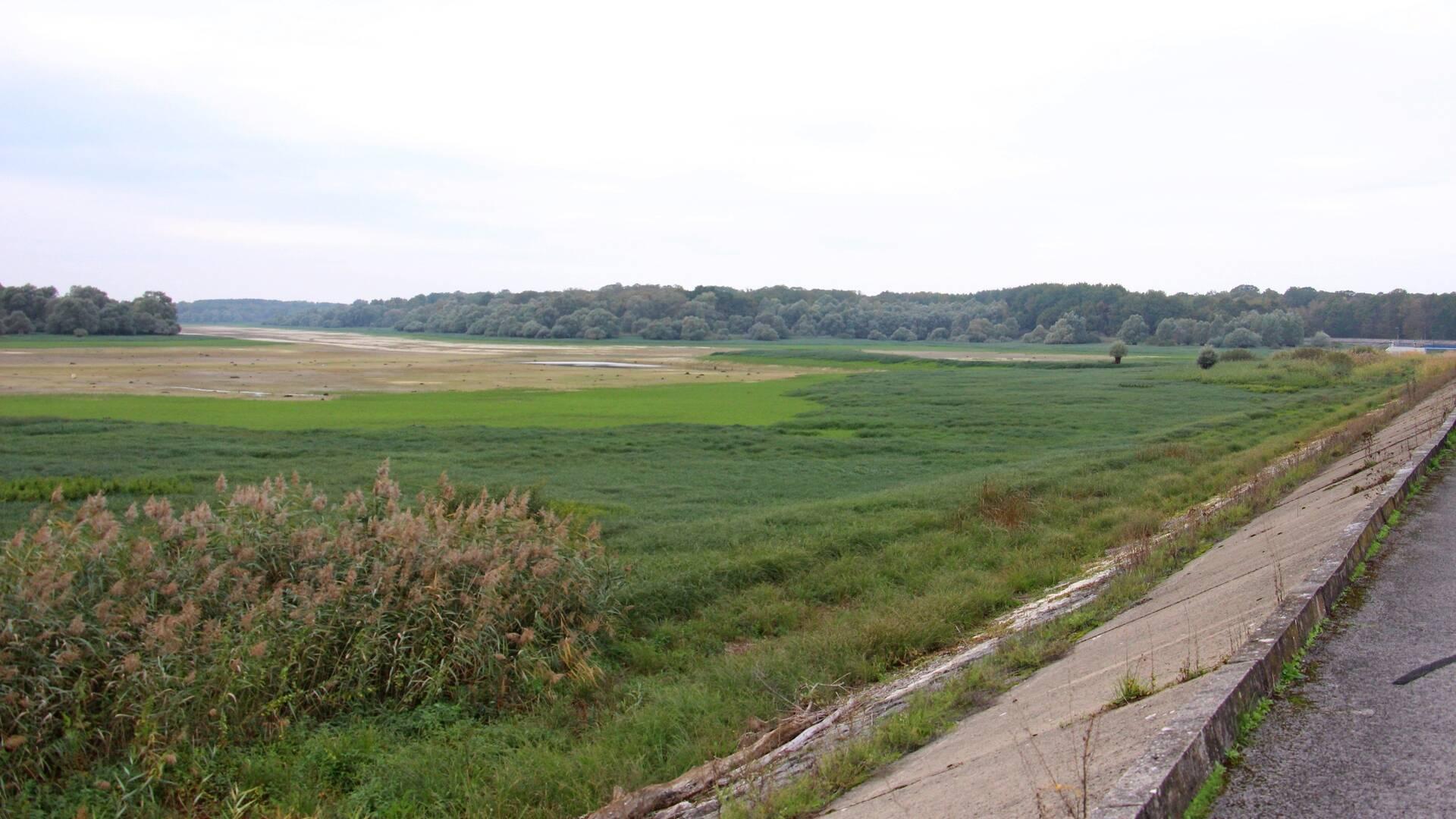 L'anse de la digue de Sainte-Livière