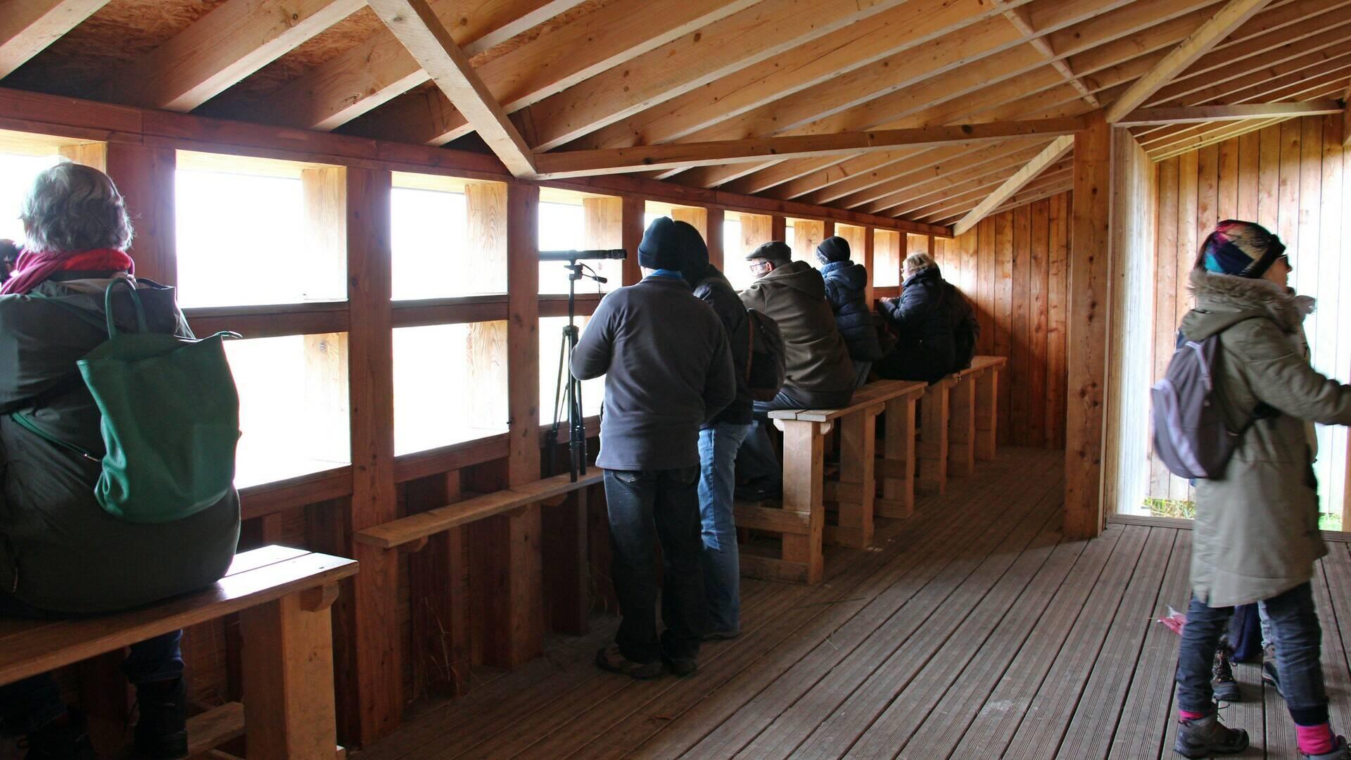 Observatoire de la Presqu'île de Champaubert - Intérieur