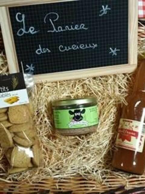 """Les Paniers Gourmands de la boutique """"Au Panier Champenois"""""""