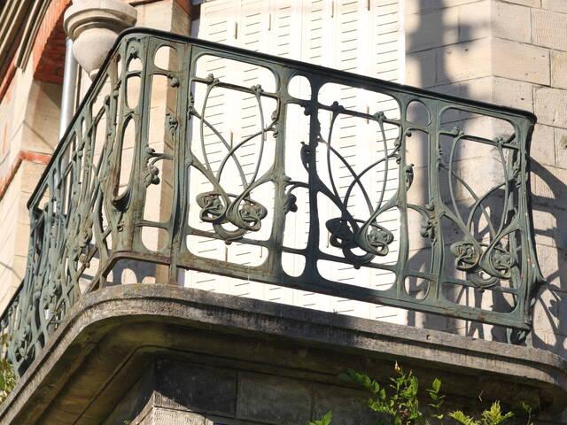 """Balcon d'angle """"Guimard"""""""