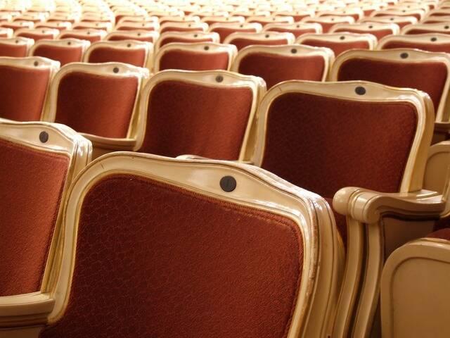 sièges de théâtre