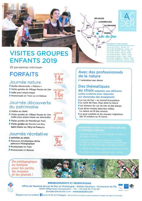 Brochure Groupe Enfants 2019