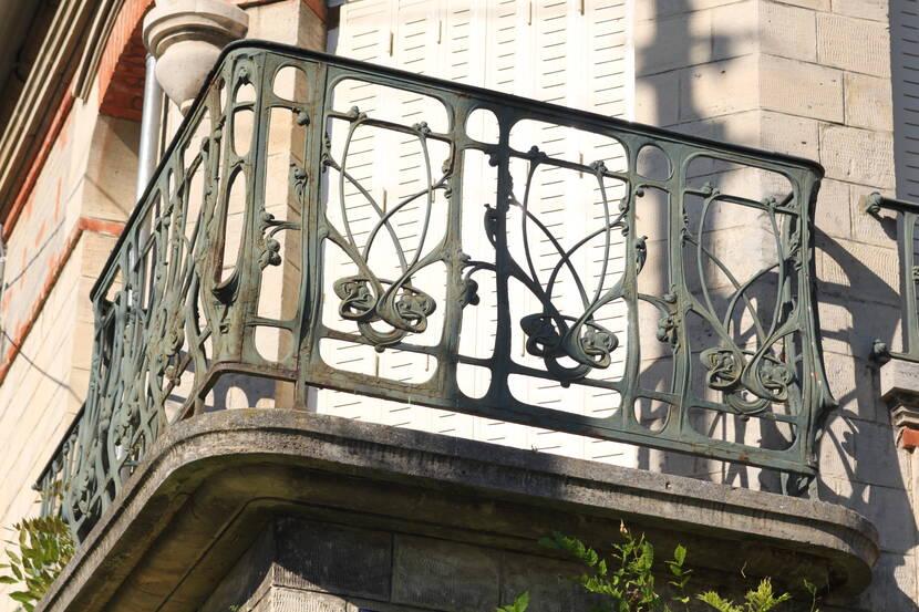Balcony by Hector Guimard